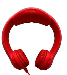 Red Volume-Limiting Wired EVA Non-Toxic Kids Headphones (OG-K100) pictures & photos