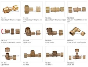 Pex / Sliding / Axial Press Fittings (F06-101) pictures & photos