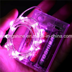 Indoor Use 50 Warm White Fairy Starry String Light Copper Wire 3AA Battery Operated pictures & photos