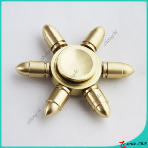 Brass Handsheld Bearing Stress Relief Fidget Spinner