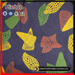 China Cheap Price Printed Cotton Rayon Denim Fabric pictures & photos