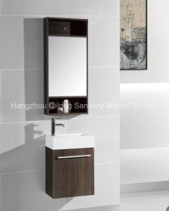 Multicolored Melamine Vanity with Thick Ceramic Basin Cabinet pictures & photos