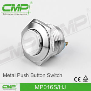 16mm Light Stainless Steel Push Button Switch (MP016S/FJ) pictures & photos