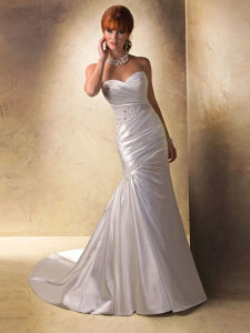 New Design Lace Bridal Gown Mermaid Wedding Dress pictures & photos