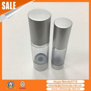 Silver Metal Aluminum Bottle Cap for Lotion Cream Bottles pictures & photos