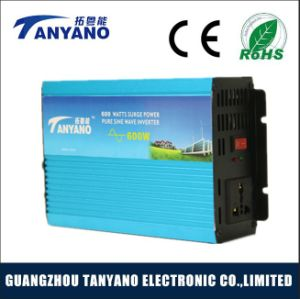 600W DC Converter Pure Sine Wave Power Inverter with Charge