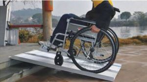 Factory Supply Wheel Chair Aluminuim Ramp with Ce pictures & photos