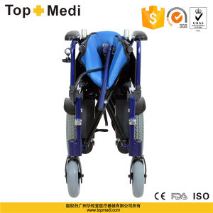 Hot Sale Folding Aluminum Power Electric Wheelchair for Disabled People Tew017 pictures & photos