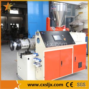 Conical Double Screw Extruder Plastic Machine pictures & photos