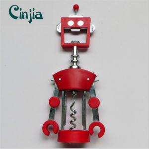 Zinc Alloy Corkscrew Robot Wine Opener pictures & photos