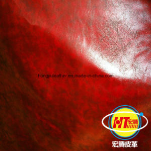 The Newest Durable PVC Synthetic Leather for Sofa Furniture Chairs (Hongjiu-1702#) pictures & photos
