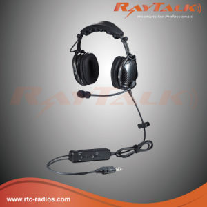 Carbon Fiber Anr Bluetooth Aviation Headset pictures & photos