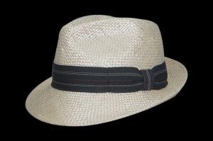 2017 Summer Leisure Cowboy Bucket Straw Hat with Flex Belt (FS0001)