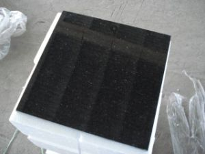 Black Galaxy Granite Countertop pictures & photos