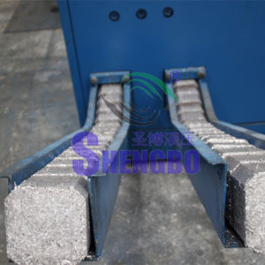 Hydraulic Aluminum Turnings Briquetting Press Machine (horizontal type) pictures & photos