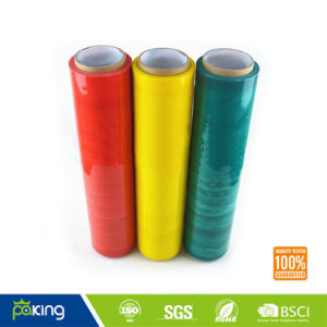 Pallet Wrap Hand Roll PE Stretch Film for Pallet Machine Use pictures & photos