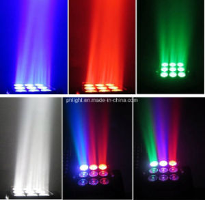 3X3 Quad LED Matrix Beam Wash Moving Head Light for Disco Club Party Stage Lighting pictures & photos