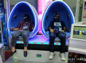 2 Seats Egg Vr Cinema Hot Sale in Pakistan pictures & photos