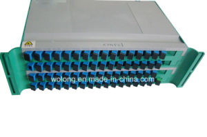 1*64 Tray Type Optical Fiber Splitter Sc PC