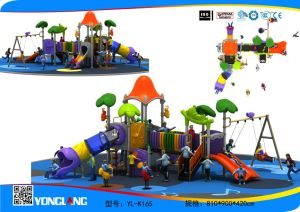 New Design of Children Outdoor Playground for Park / Preschool (YL-K165) pictures & photos