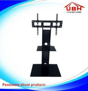 Steel Frame and 12mm Tempered Glass TV Stand (have stock) pictures & photos