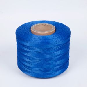 Sturdy 100% Polyester Firm Yarn for Cable (blue) pictures & photos