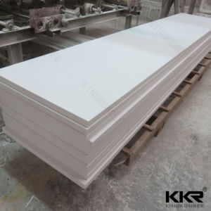 12 mm Building Material Glacier White Solid Surface for Table pictures & photos