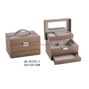 Sweet Design Purple Leather Jewelry Storage Box Jewelry Box pictures & photos