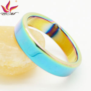 Htr-001A 6mm Colorful Magnetic Jewellery Fashion Ring pictures & photos