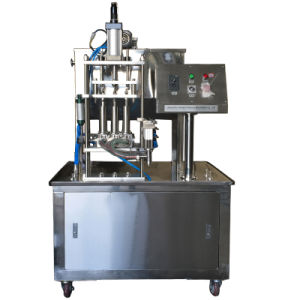 Line Type Ice Cream Filling Machine pictures & photos