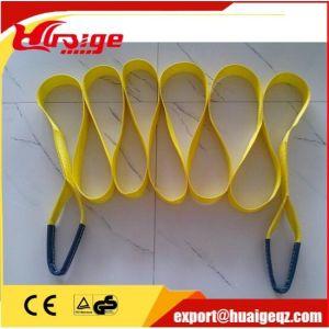 Duplex Synthetic Polyester Flat Webbing Lifting Sling/Hoisting Slings/Safety Webbing Sling pictures & photos