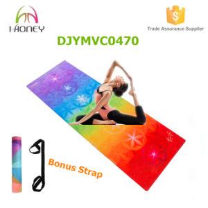 7 Chakras Custom Printed Yoga Mat Non-Slip Combo Mat and Towel Design pictures & photos