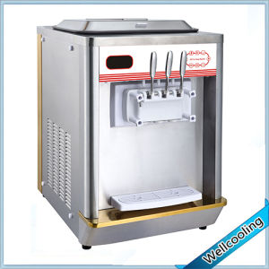 Well Cooling Luexry Model Table Top Soft Serve Ice Cream Machine pictures & photos