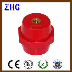 Factory Price Sm Series Red Round Polymer Screw Busbar Insulator pictures & photos