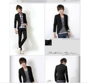 High Quality Men Suit at Low Price Wholesale Men Slim Fit Blazer pictures & photos