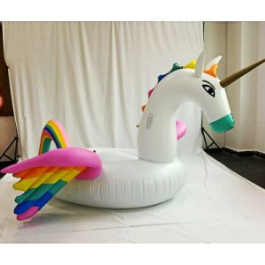 Swimming Ring Lounge Water Floating Unicorn Inflatable Pool Toy Float pictures & photos