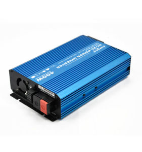 400W mini pure sine power inverter 12VDC to 220VAC 400W pictures & photos