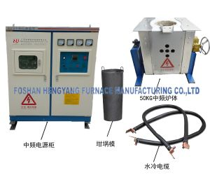Crucible Melting Furnace for Non-Ferrous Metal pictures & photos