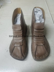 Lady Leather Brush Color Restoring Ancient Ways Leisure Foaming Bottoms Short Boots pictures & photos