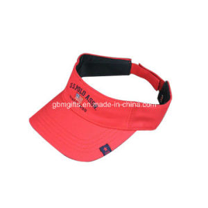 Heigh Quality Sun Visor Caps with Long Custom Visor and Black Waterproof Sun Visor Cap pictures & photos