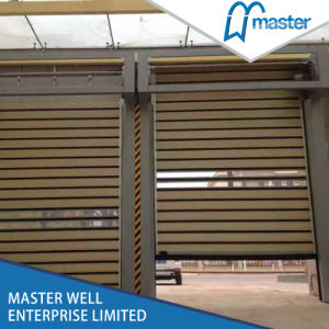 Aluminum Foamed High Speed Roll up Spiral Door / Fast Spiral Door with High Quality pictures & photos