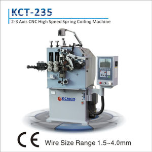 Kcmco-Kct-35W 3 Axis 1.2-4.0mm CNC Wire Forming Machine& Extension/ Torsion Spring Making Machine pictures & photos