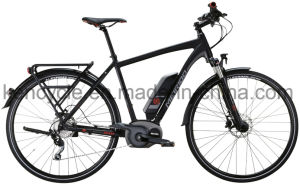 700c MID Motor Electric Bike with Bafang Max Central Motor System/Torque Sensor Electric Bike for Europe Market (SY-E2815) pictures & photos