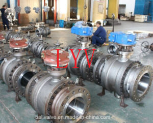 Long-Distance Pipeline Ball Valve pictures & photos