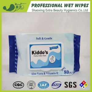 OEM/ODM Baby Wet Wipes with Neutral Package Small Order Acceptable pictures & photos
