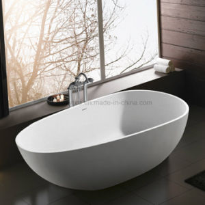Ellipse Stone Resin Bathtub, Corian, Modified Acrylic, Polymable Stone (K1810) pictures & photos