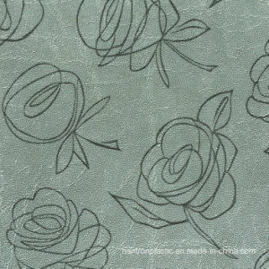 Flower Design PVC Leather for Wallpaper pictures & photos