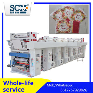 High Speed 4 Color Gravure Printing Machine