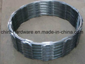 Factory Directly Supply Single Type Razor Barbed Wire Cross Type Barbed Wire pictures & photos