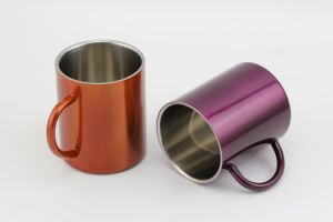 Stainless Steel Coffee Mugs Cups with Logo Printing pictures & photos
